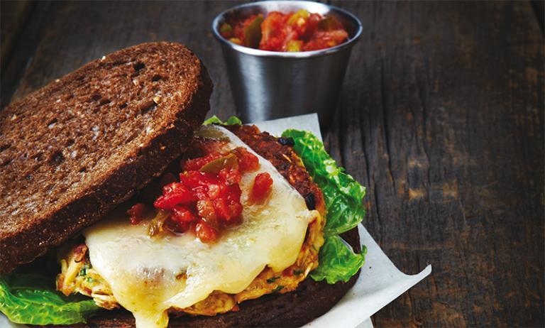 Sandviș cu ton  bogat în proteine