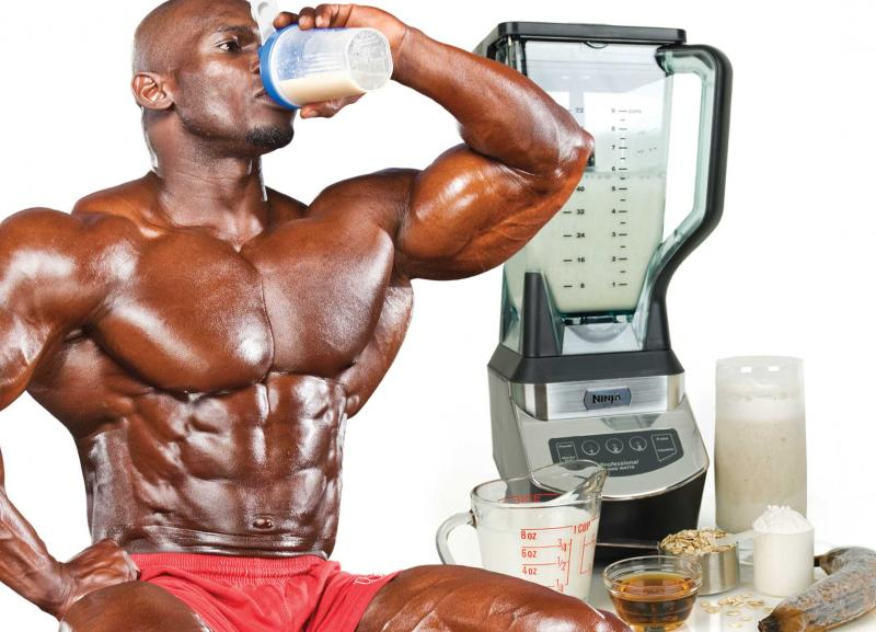 Ia-ți micul dejun pentru creștere  musculară din mers