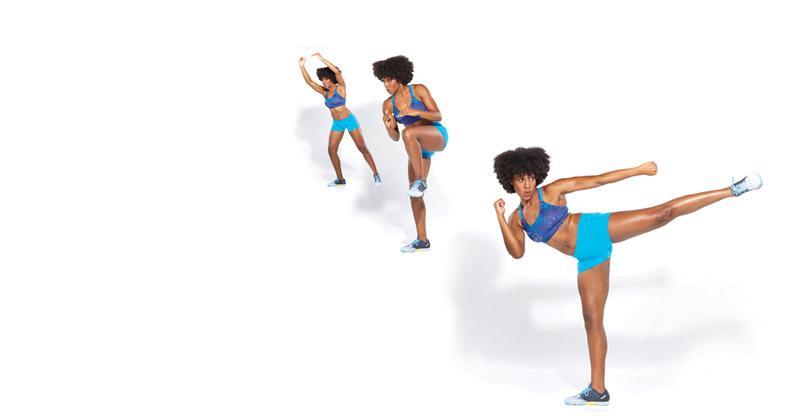 Antrenament de 20 de minute: kickboxing