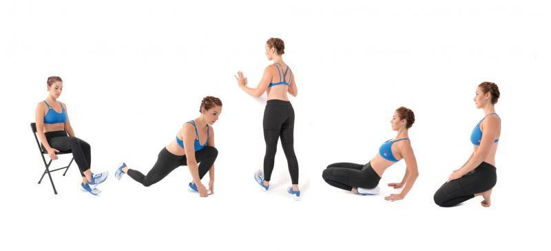 5 exerciții de stretching  esențiale pentru glezne